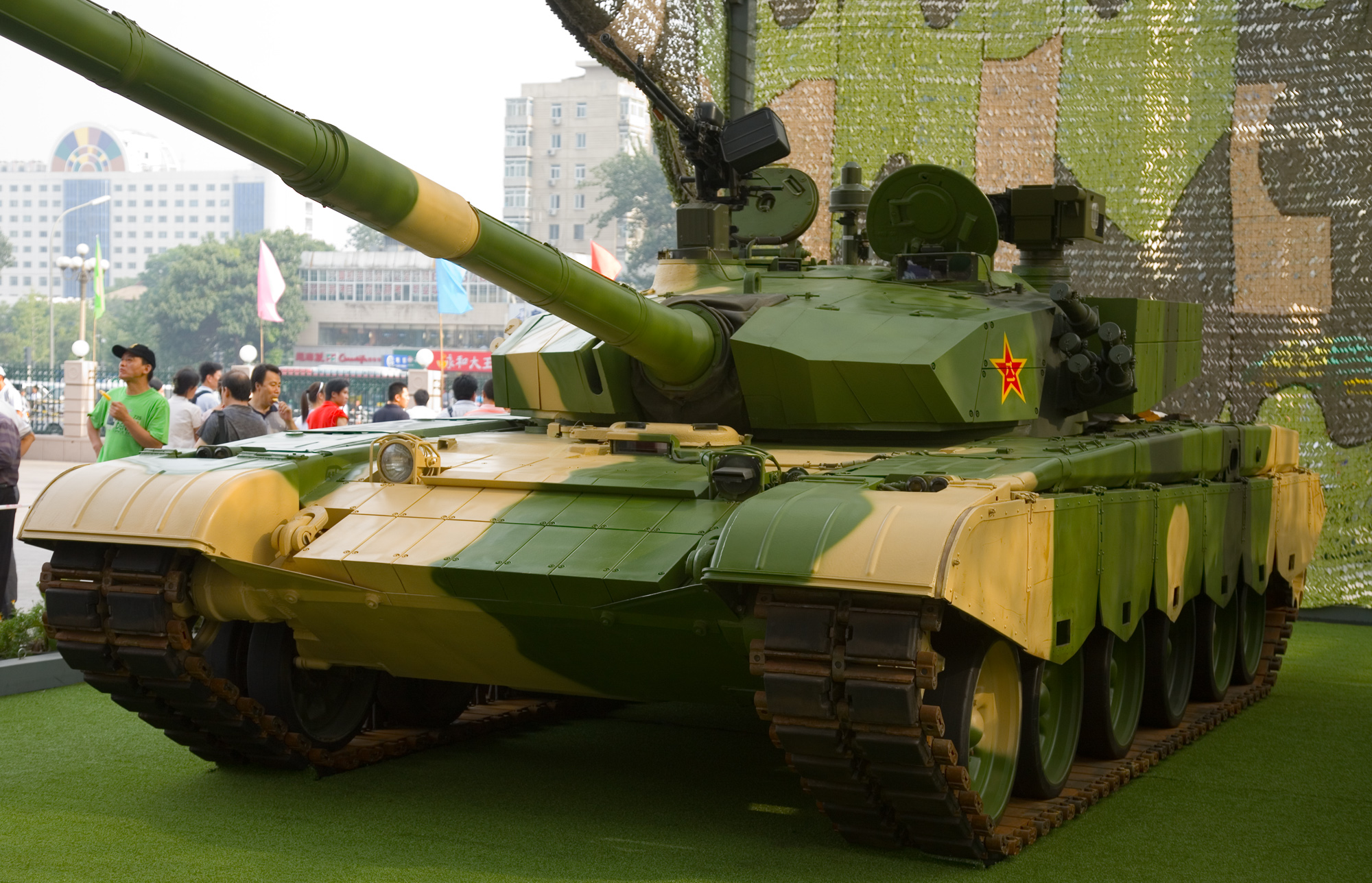 Type 99 MBT Front Left.